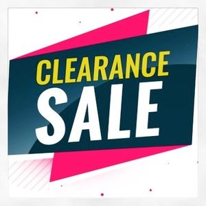 Accessories - Clearance Sale!!